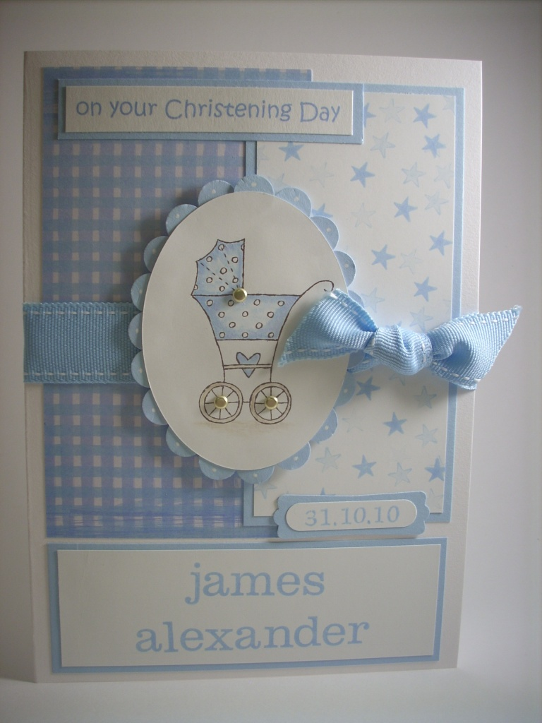 Christening wishes...
