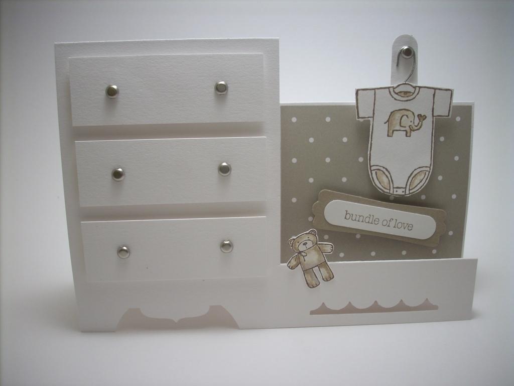 Baby dresser card...