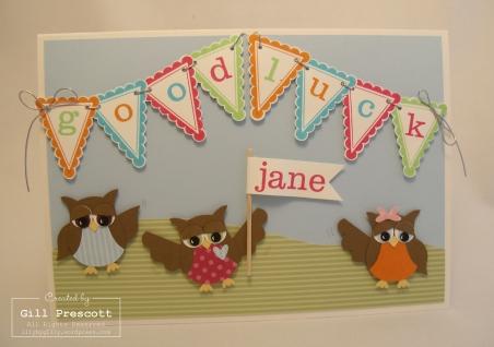 Jane's farewell