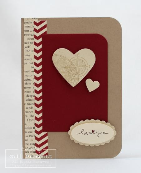 Serendipity Valentine card