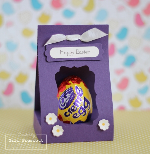 Easter creme egg box