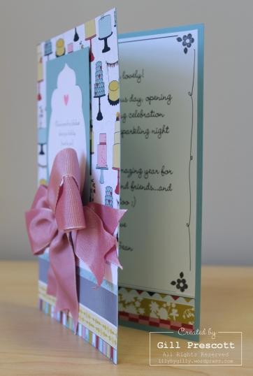 Anna's birthday card inside
