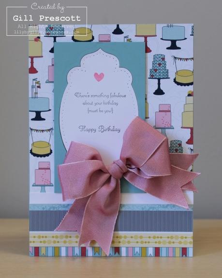 Anna's birthday card