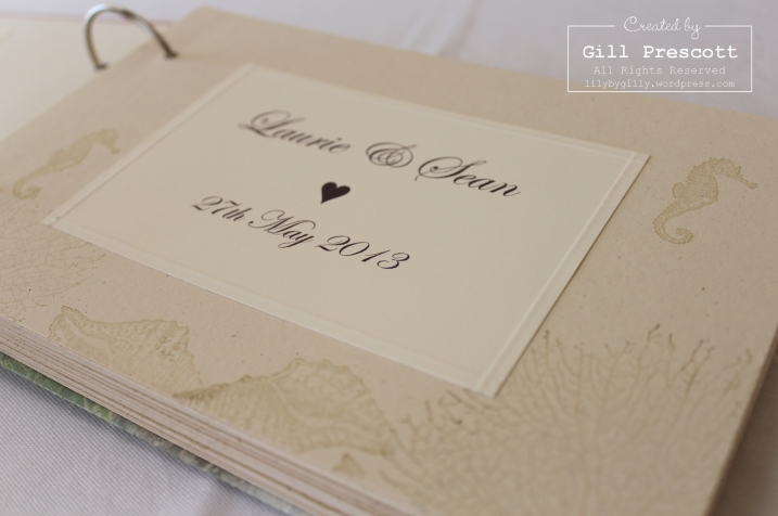 guest book inside front page