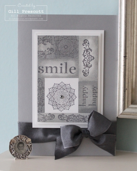 smile smoky slate card