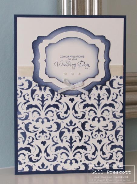 wedding card Stu and Katie