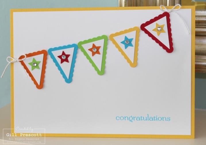 Bunting congratulations