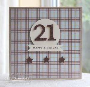 Sweater weather 21st birthday card
