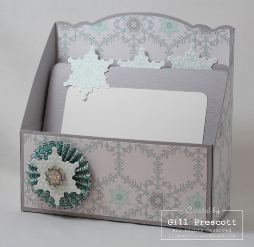 winter frost gift box and dividers