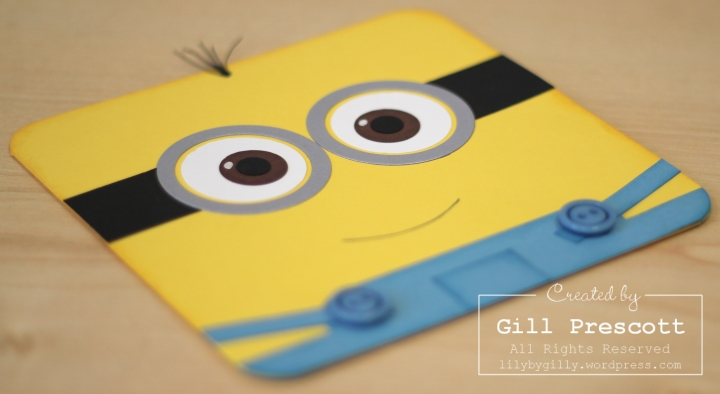 Despicable me minion card 2