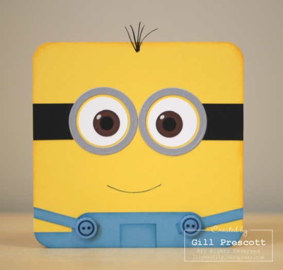 Despicable me minion card