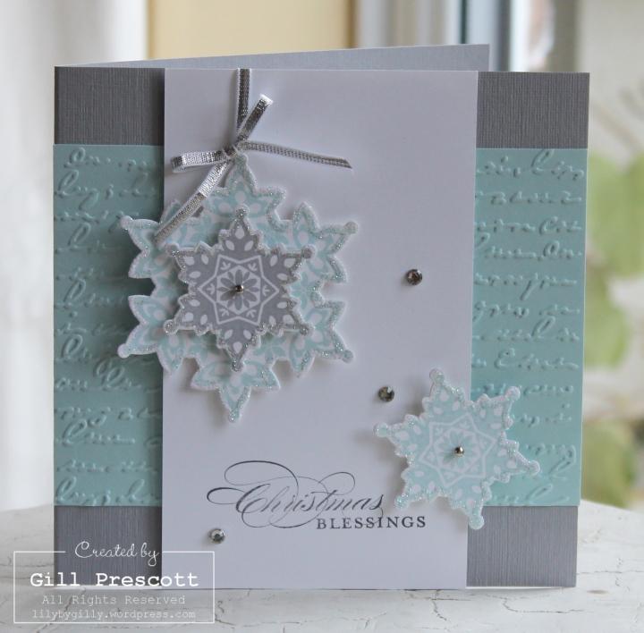Festive flurry Christmas card 2