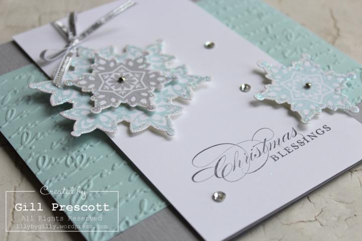 Festive flurry Christmas close up