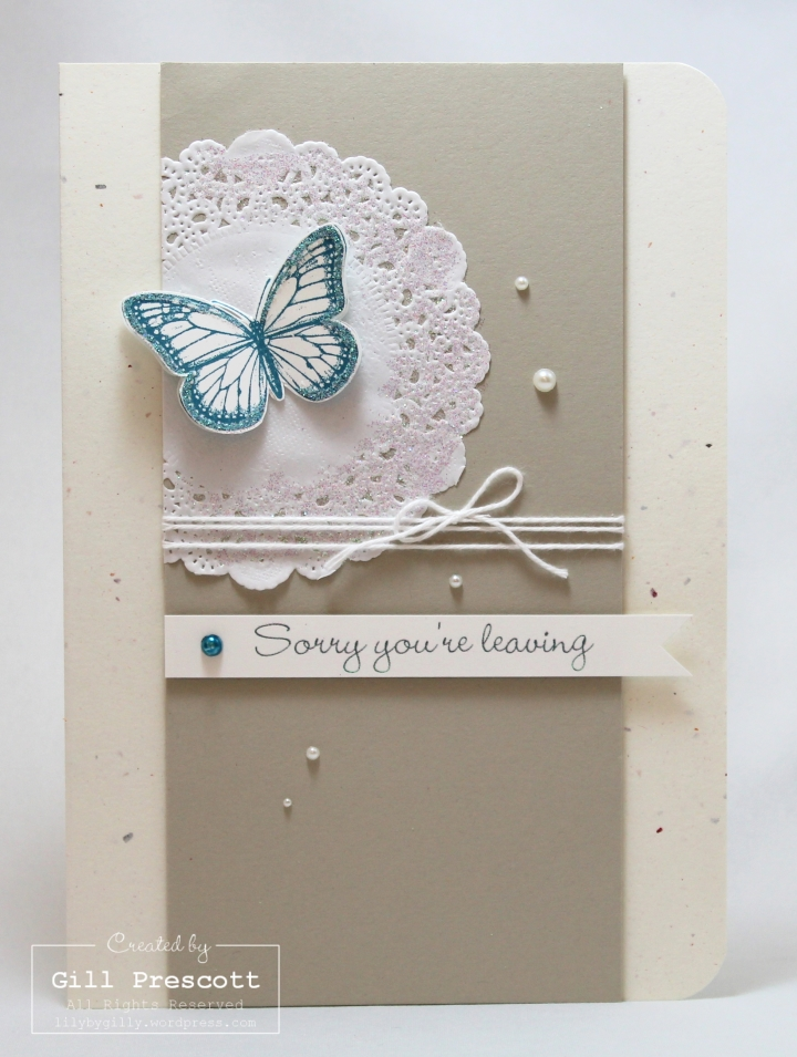Best of butterflies leaving card