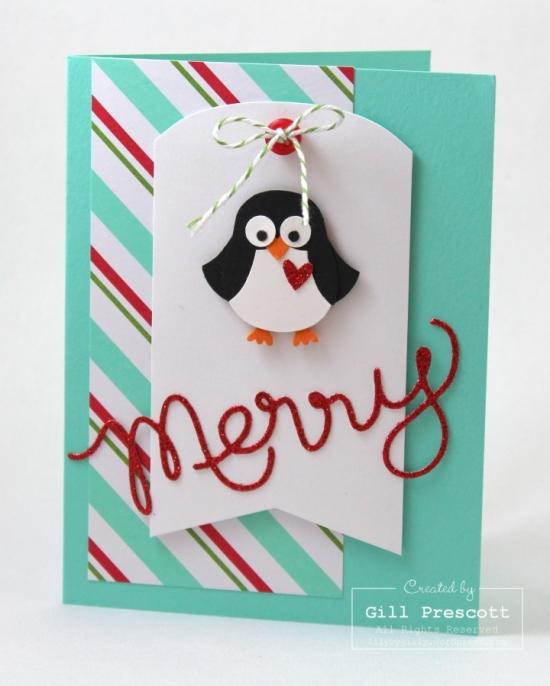 Merry penguin