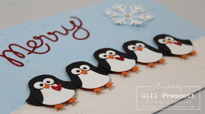 Penguin party faces
