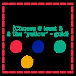 February colour challenge
