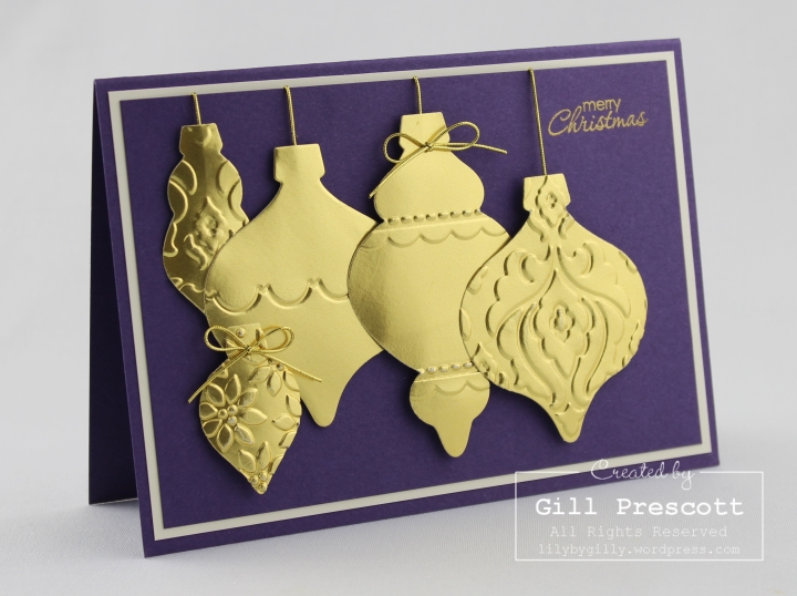 golden holiday ornament 4