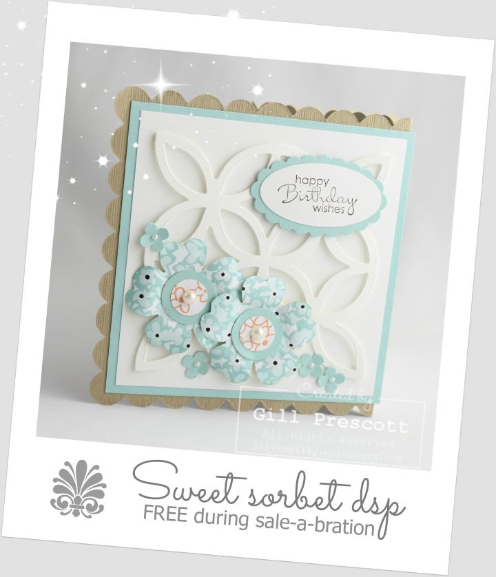Sweet sorbet polaroid