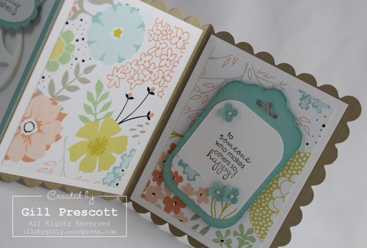 Sweet sorbet z fold card tag topper punch