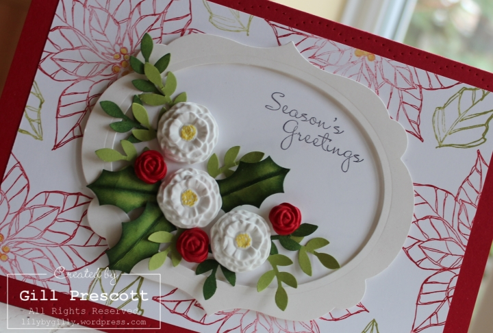 Christmas flowers 3