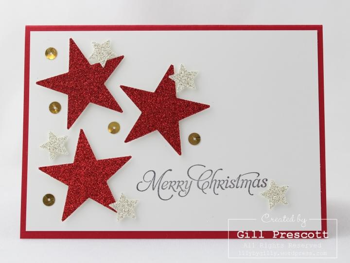 Christmas stars sketch