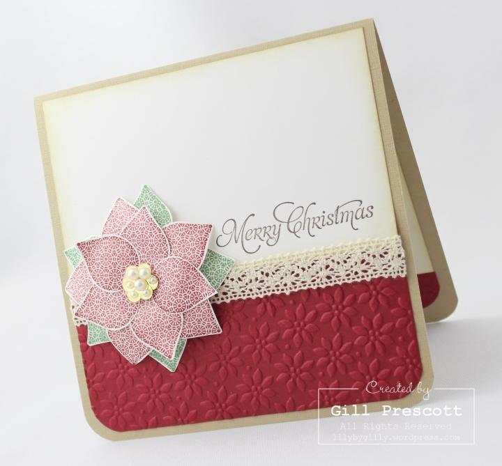 Paper Poinsettia 2
