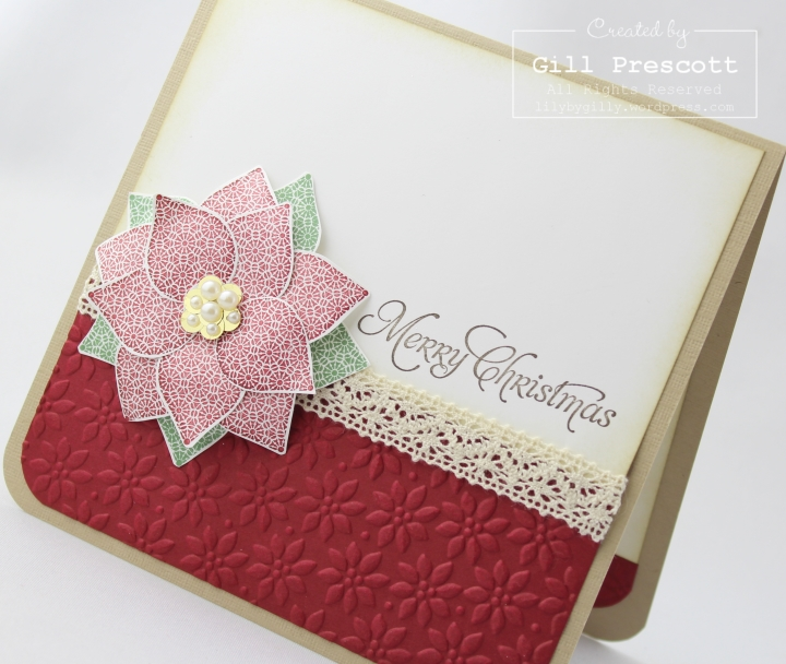 Paper Poinsettia 3