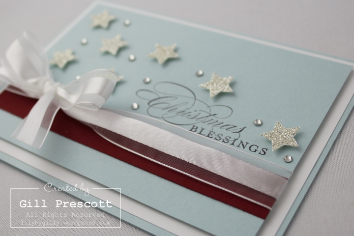 Stampin Up UK Christmas stars 2