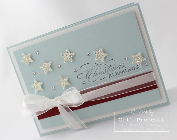 Stampin Up UK Christmas stars 3
