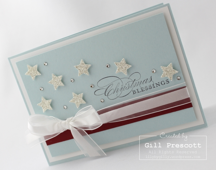 Stampin Up UK Christmas stars 3