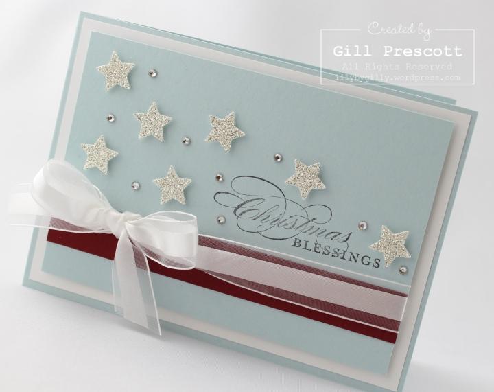 Stampin Up UK Christmas stars 4
