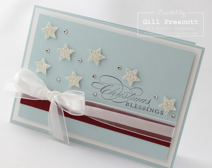 Stampin Up UK Christmas stars 4