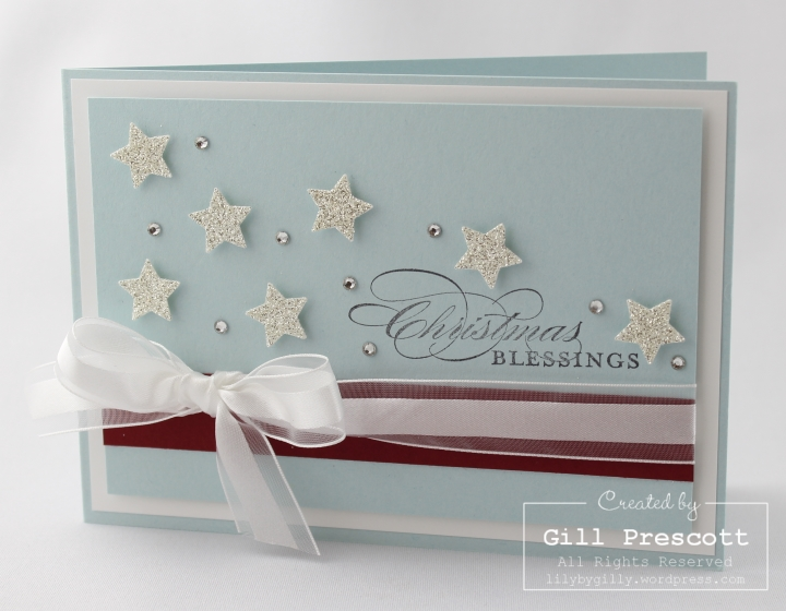 Stampin Up UK Christmas stars
