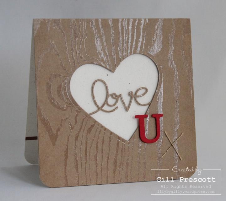 Wooden Heart Valentine 2