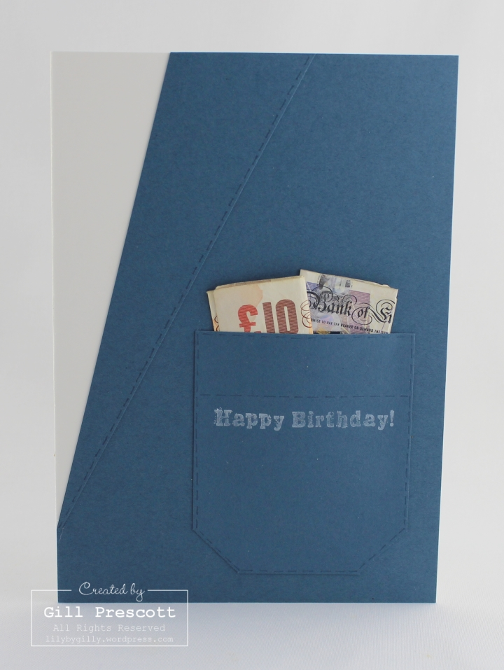 Suit pocket card