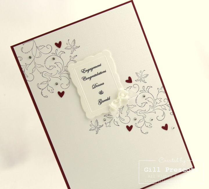 Creative elements engagement card left