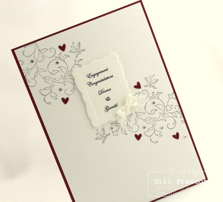 Creative elements engagement card left