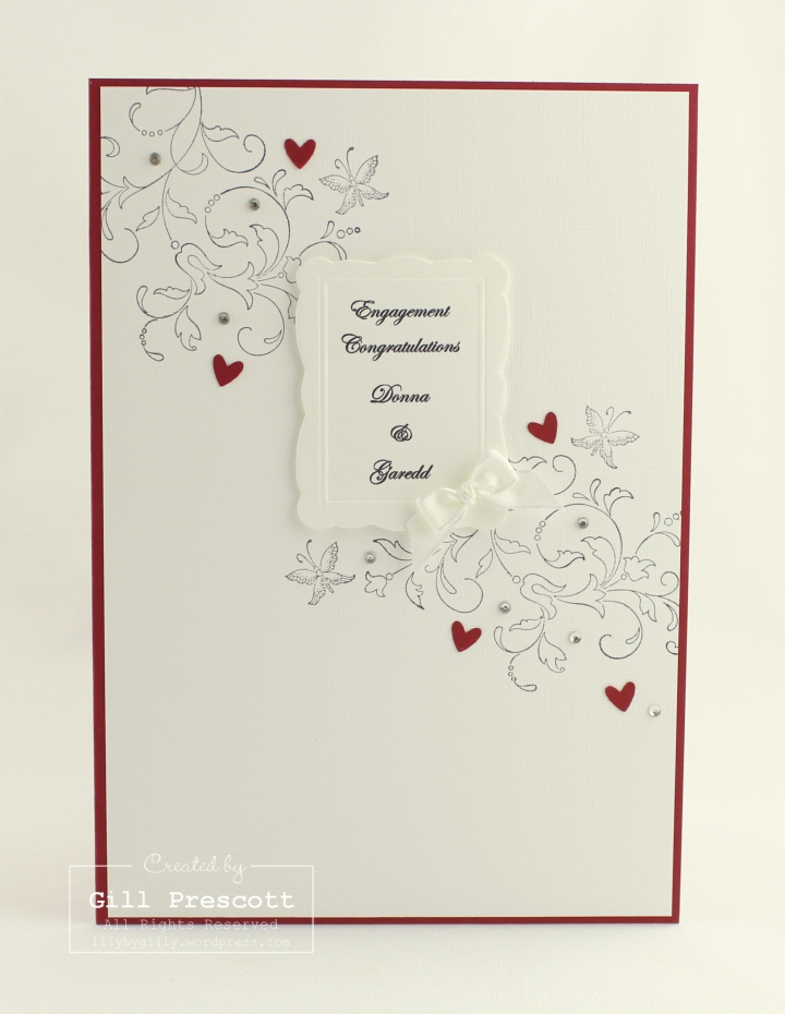 Creative elements engagement card