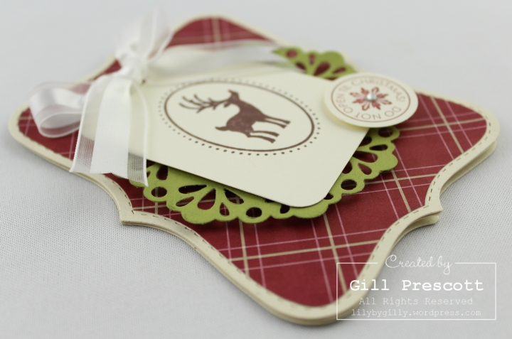 Joyous celebrations by Stampin Up close up