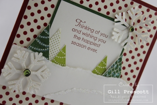 More merry messages by Stampin Up right