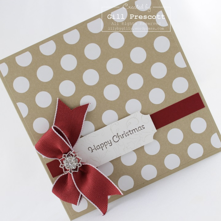 Stampin Up frosted finish embellishment 52CCT June charm challenge left