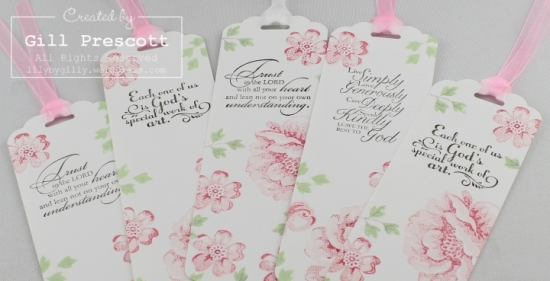 Stippled blossoms two step stamping by Stampin Up verses