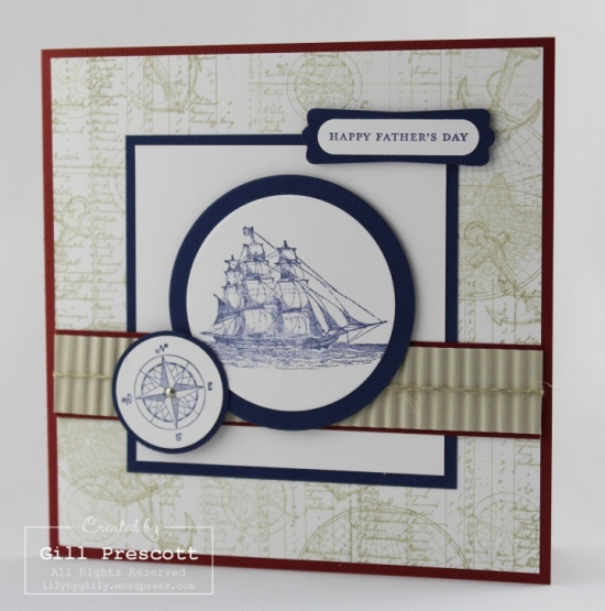 The Open Sea Fathers day card