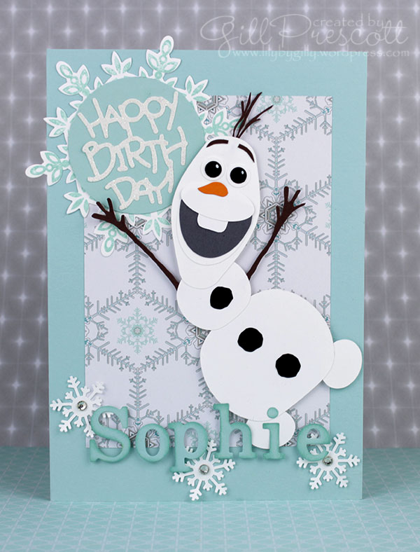 Olaf-birthday-card