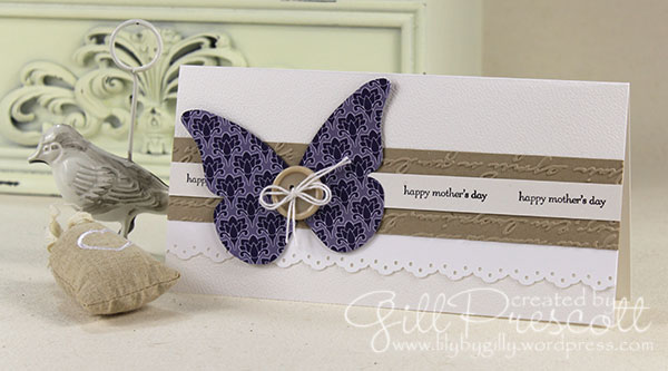 beautiful-butterflies-bigz-die Mother's day card by Stampin' Up