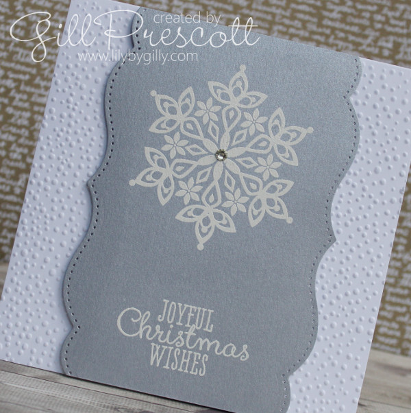 I Dry Embossed Both Sides Of A White Card Blank For Added Textureu2026
